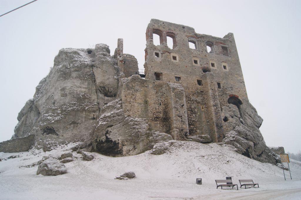 Zamek Ogrodzieniec 12.2016