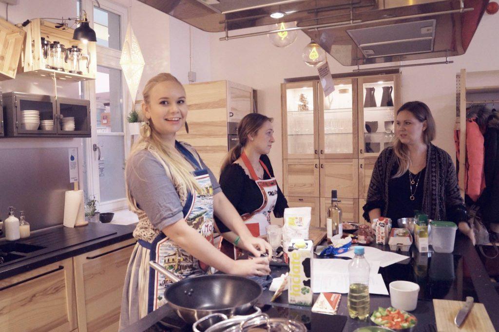 Kuchnia Spotkan Ikea I Banda Blogerek Marionetka Mody